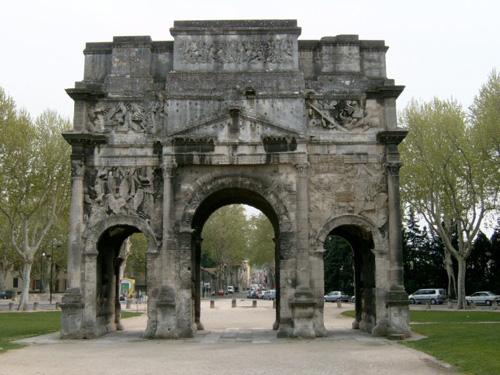 Orange Arch